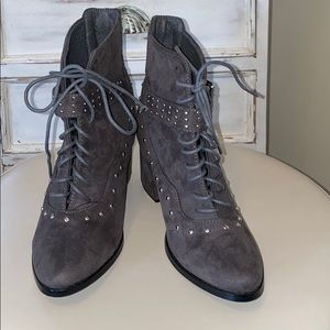 Gray Yoki Boots.